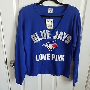 NWT VS Pink Toronto Blue Jays sweatshirt